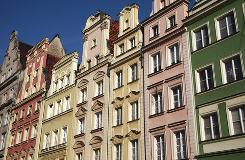 Poland, Wroclaw, Old buildings, facades - PSF00414