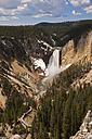USA, Yellowstone Park, Lower Yellowstone Falls - FOF01861