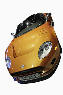Yellow sports car - KS00069