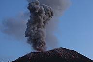 Indonesia, Sumatra, Krakatoa volcano erupting - RMF00407
