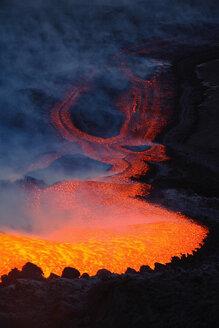 Italy, Sicily, Lava flow from Etna volcano - RMF00356
