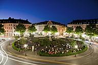 Germany, Munich, View of gaertnerplatz at night - RDF00978