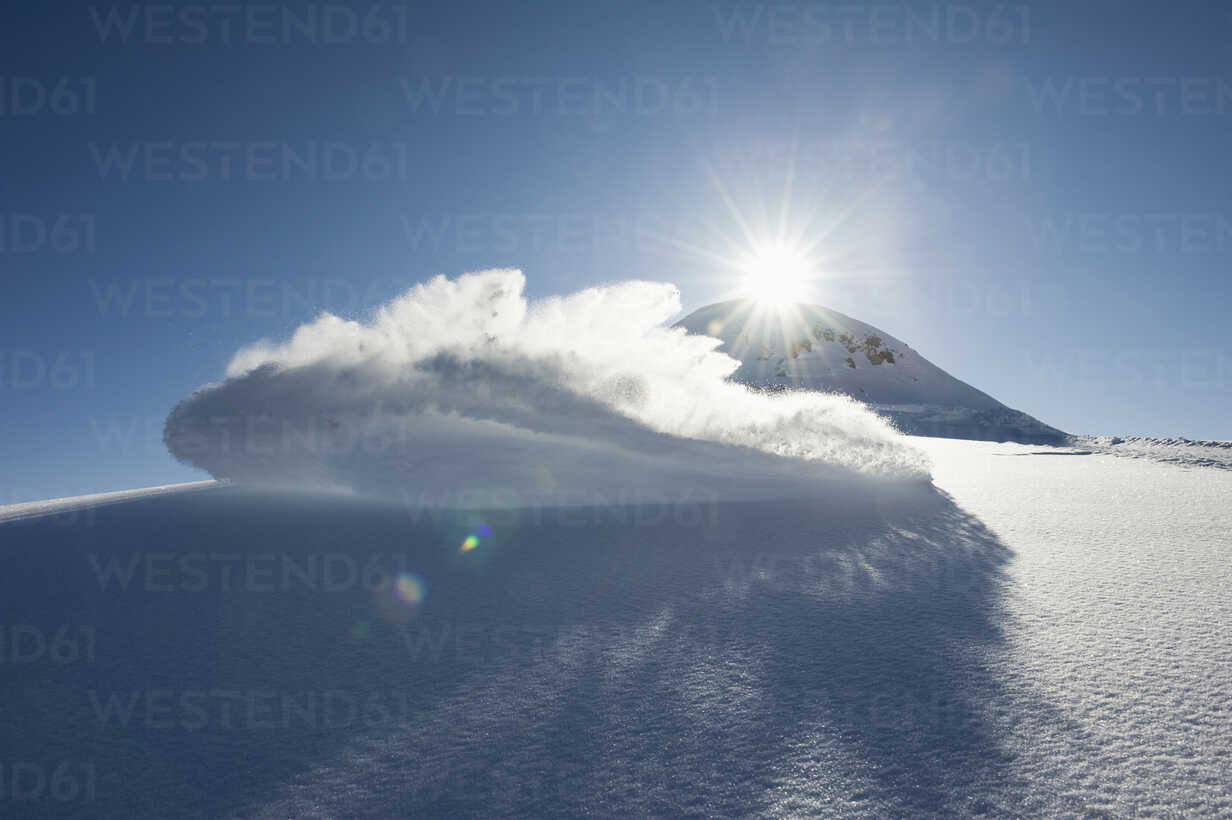 Austria, View of arlberg mountain with snow - MIRF00062 - Michael Reusse/Westend61