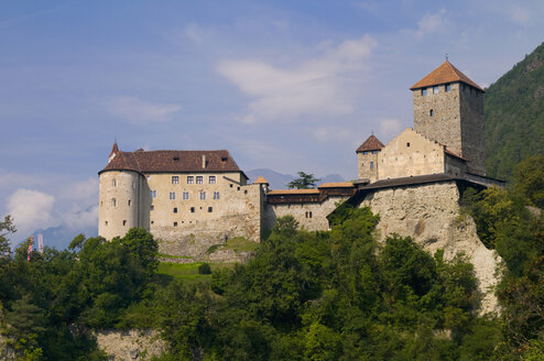 Italy, South Tyrol, Castle on mountain - SMF00612