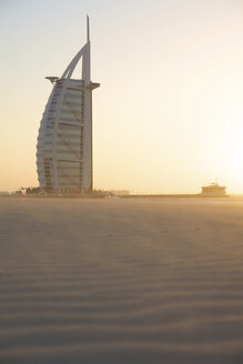 United Arab Emirates, Burj al Arab at sunset - LFF000221