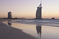 United Arab Emirates, Burj al Arab at sunset - LFF000215