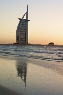 United Arab Emirates, Burj al Arab at sunset - LFF000203
