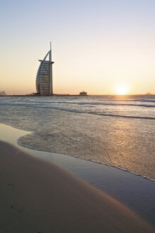 United Arab Emirates, Burj al Arab at sunset - LFF000200