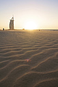 United Arab Emirates, Burj al Arab at sunset - LFF000188