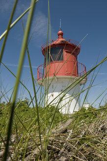 Germany, Northsea, Amrum, View of light house cross light - AWDF000590