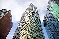 Austria, Vienna, Wienerberg City, View of architecture against sky - MBEF000033