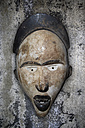 Old African mask, close-up - TLF000535