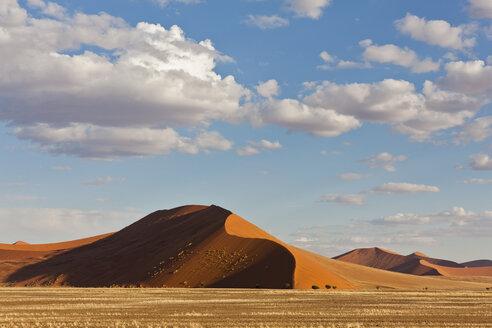 Africa, Namibia, Namib Desert, View of sand dunes in namib-naukluft national park - FOF002372