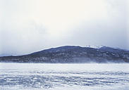 Canada, British Columbia, View of frozen lake - WBF000206