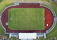 Germany, Aerial view of football stadium - WBF000234