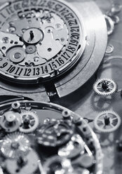 Interior parts of watch, close up - WBF000355