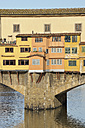 Italy, Tuscany, Florence, View of Bridge on Arno River - RUEF000562