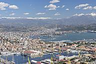 Italy, Cinque Terre, La Spezia Province, Liguria, View of harbour - RUEF000571
