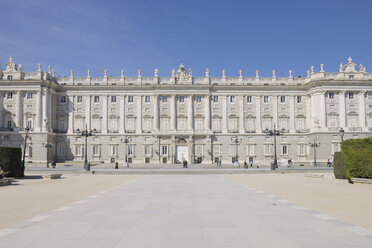Spain, Madrid, Facade of Royal Palace of Madrid - RUEF000597