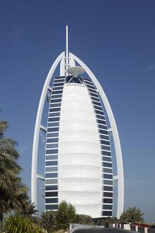 Dubai, United Arab Emirates, View of Burj al Arab hotel - SIEF000365