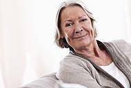 Germany, Wakendorf, Portrait of senior woman, close up - WESTF016196