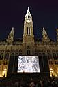 Austria, Vienna, Film festival on Rathausplatz square at city hall - SIE000618