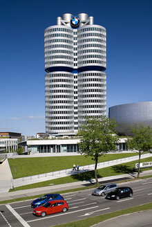Germany, Bavaria, Munich, View of BMW headquarters - PS000439