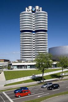 Germany, Bavaria, Munich, View of BMW headquarters - PS000439