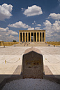 Turkey, Cappadocia, Ankara, Anitkabir, View of mausoleum of kemal ataturk - PS000499