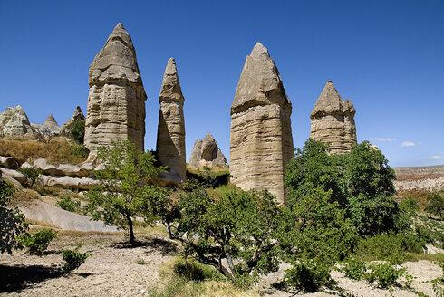 Turkey, Cappadocia, Goreme, View of rock formation - PSF000520
