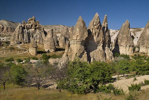Turkey, Cappadocia, Goreme, View of sword valley - PSF000529