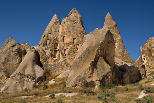 Turkey, Cappadocia, Goreme, View of sword valley - PSF000531