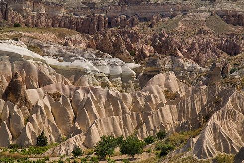 Turkey, Cappadocia, Goreme, View of valleys - PSF000537