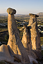 Turkey, Cappadocia, Goreme, Urgup, View of rock formation - PSF000547
