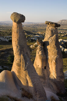 Turkey, Cappadocia, Goreme, Urgup, View of rock formation - PSF000547
