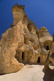 Turkey, Cappadocia, Goreme, Pasabag, View of rock formation - PSF000549