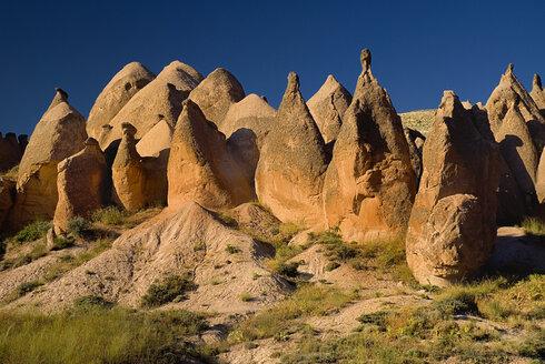 Turkey, Cappadocia, View of rock formatio - PSF000554