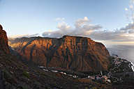 Spain, Canary Islands, La Gomera, Valle Gran Rey, View of mountain - SIEF001035