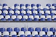 Germany, Upper Bavaria, Garmisch-Partenkirchen, View of empty seats at ski jump stadium - TCF001492