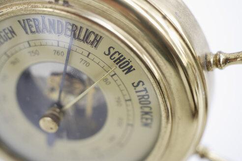 Close up of old german barometer - TCF001501
