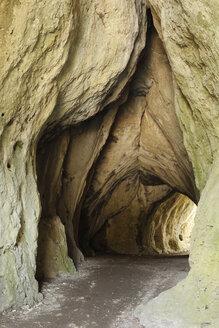 Germany, Bavaria, Franconia, Upper Franconia, Franconian Switzerland, Betzenstein, View of Klauskirche cave - SIE001524