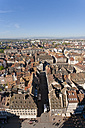 France, Alsace, Strasbourg, View of cityscape - WDF000933