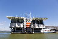 Europe, Portugal, Lisbon, Parque das Nacoes, View of Lisbon Oceanarium - FO003455
