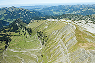 Austria, Kleinwalsertal, View of landscape with mountain ranges - MIRF000214
