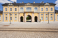 Germany, Thuringia, Gera, View of baroque style orangery building - WDF001022
