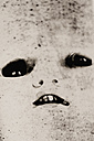 Creepy face of doll, close up - HST000007