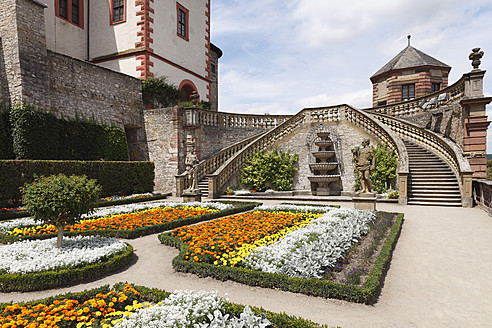 Germany, Bavaria, Wuerzburg, View of fortress marienberg - SIEF001902