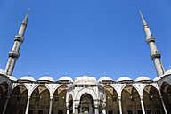 Turkey, Istanbul, View of Blue Mosque - PSF000612