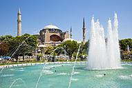 Turkey, Istanbul, Sultanahmet, View of Haghia Sophia Museum - PSF000616