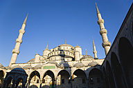 Turkey, Istanbul, View of Blue Mosque - PSF000622